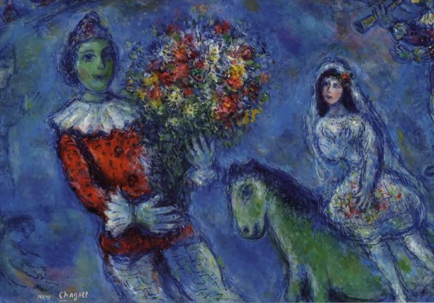 Chagall, Sogno d'amore